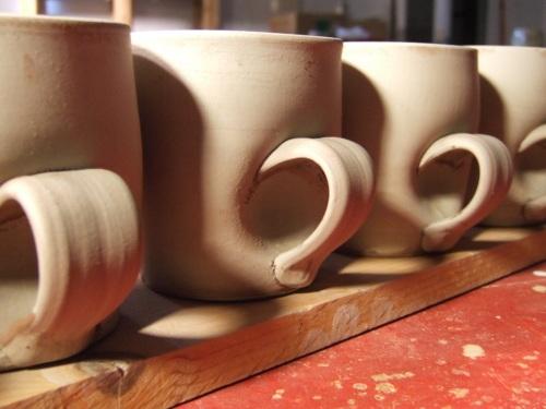 Fresh Mugs in the studio