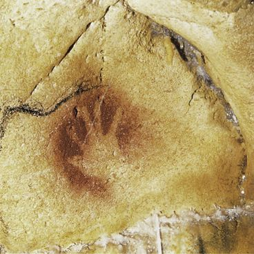 Caveman Handprint