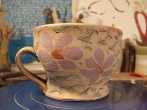 blossom-gaggle mug