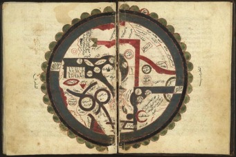 Map of the Arab World; 8th Century