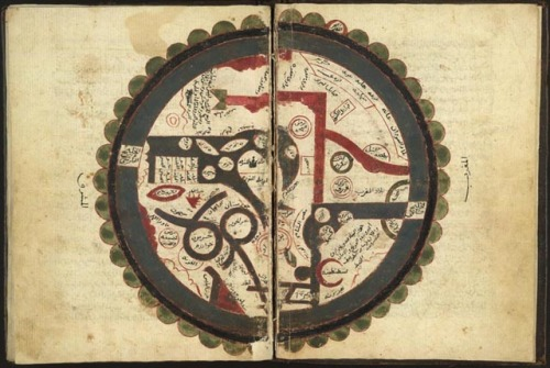 Map of the Arab World; 8th Century