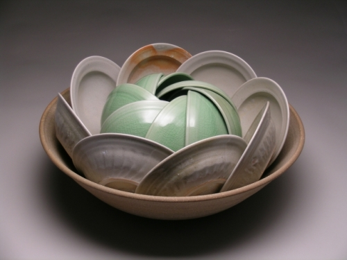 Alleghany Meadows; Double Spiral Bowl Set