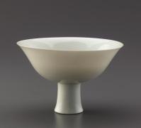 Stem Bowl; early 15th C. Ming Dynasty