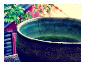 matcha w/ nancy barbour stoneware bowl - 9.30.2o13