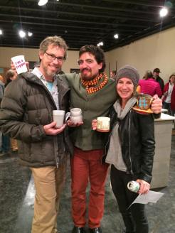 Carbondale Clay Center - cup auction - 2014