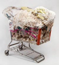 Judith Scott (American, 1943‒2005). Untitled, 2003–4. Fiber and found objects